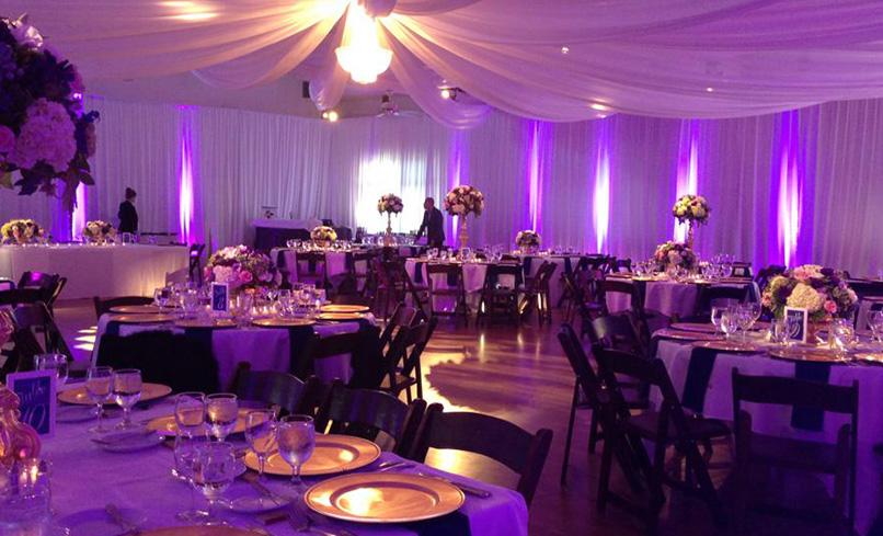 Main Hall in Purple lighting