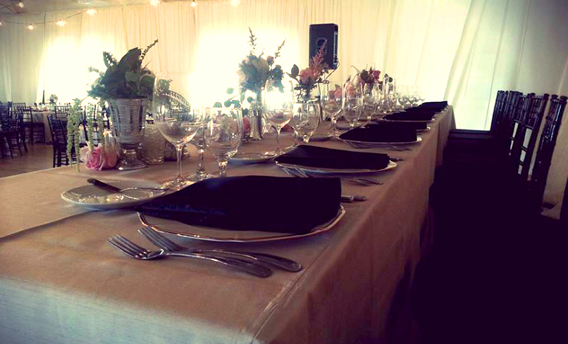 Main Hall Table