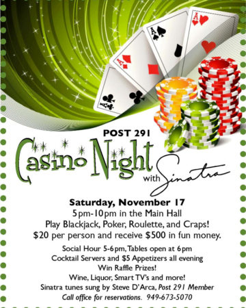 2018 Nov Casino Night