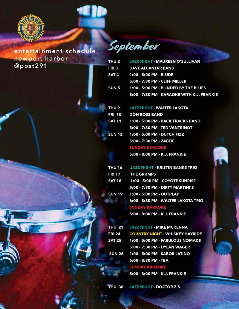 Schedule-Bands-Sept
