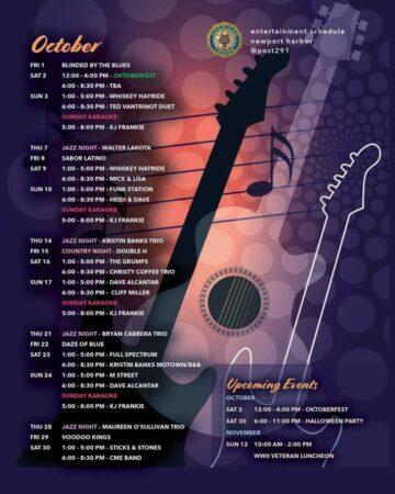 Schedule-October
